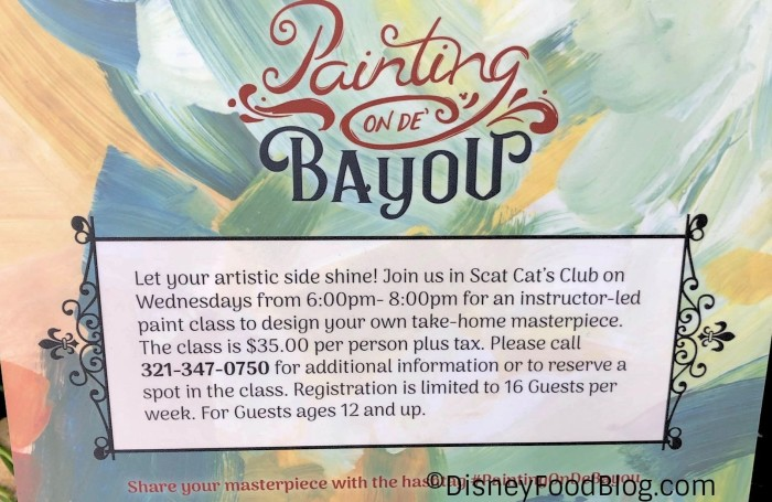 Painting on de Bayou