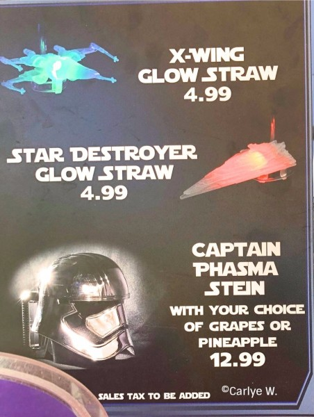 Captain Phasma Stein Sign