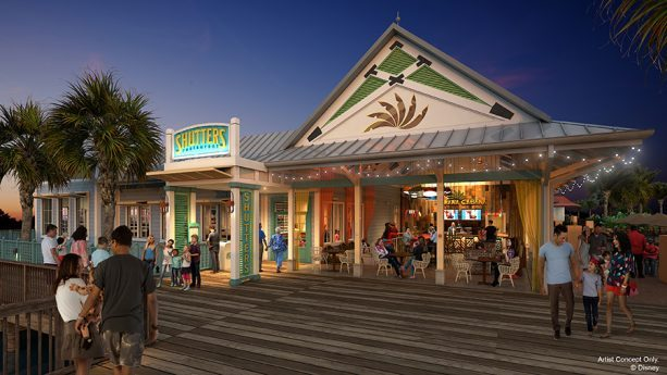 Caribbean Beach Resort Concept Art Disney