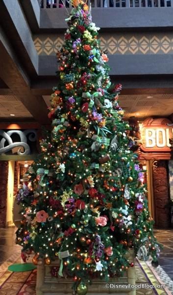 Polynesian Village Resort Christmas Tree