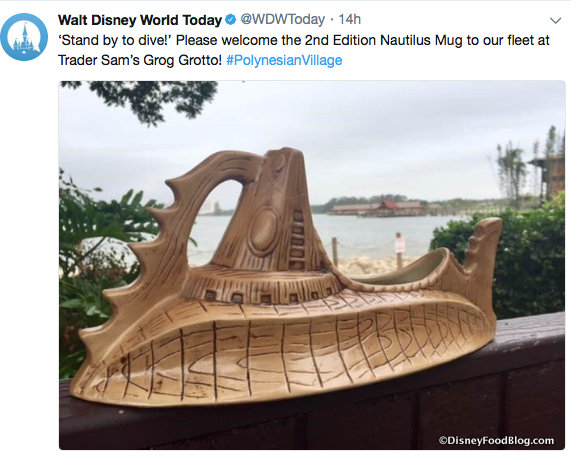 The Nautilus @WDWToday Twitter