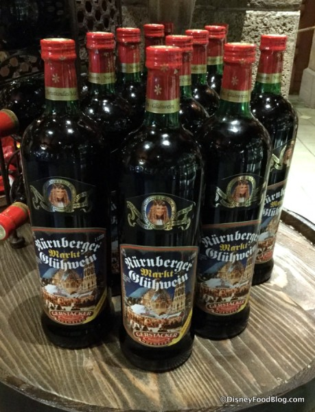 Gluhwein Display