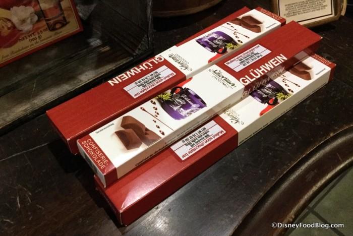 Gluhwein Chocolate Bars