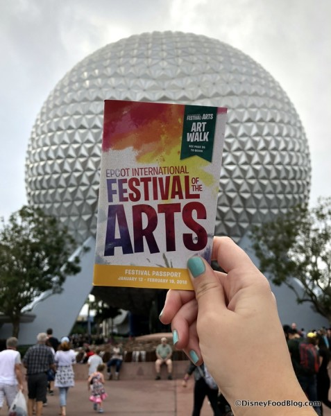 2018 Festival of the Arts Passport