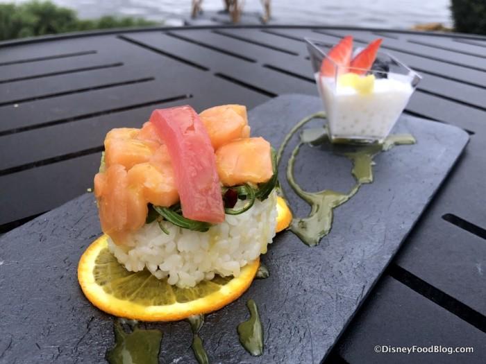 Chirashi Sushi and Haupia Pearl