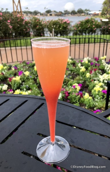 Vodka Rossini: Vodka, Strawberry Purée and Prosecco