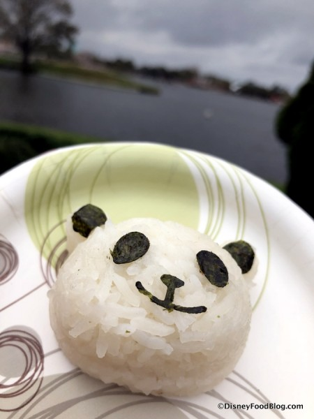 Coconut Panda Rice Cake