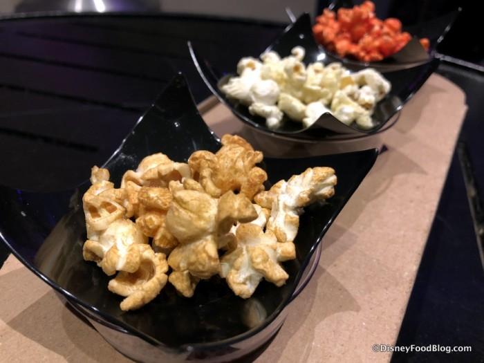 Popcorn Pairing Flight