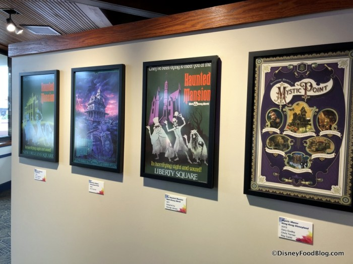 The Art of Disney Attraction Posters Exhibit
