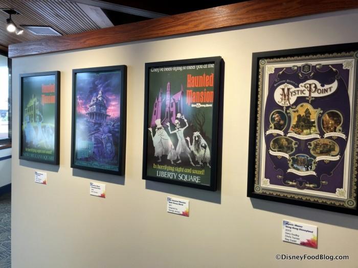 The Art of Disney Attraction Posters Exhibit