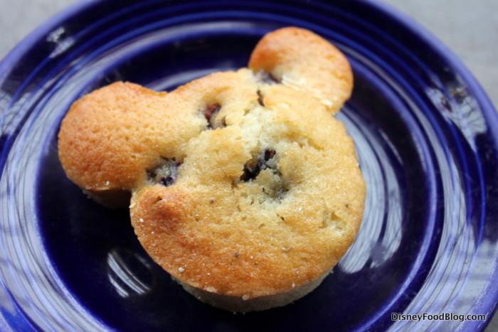 Blueberry Mickey Muffin