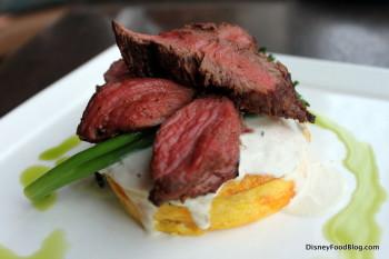 Beef Tenderloin and Egg