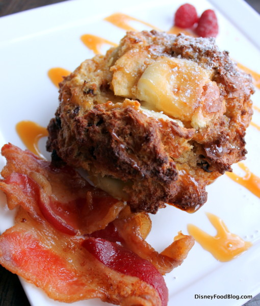Caramel Apple Stuffed French Toast