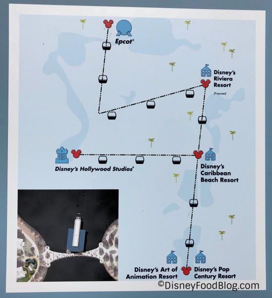 Skyliner Map