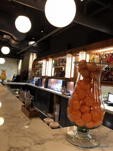 Bar Inside Enzo's Hideaway