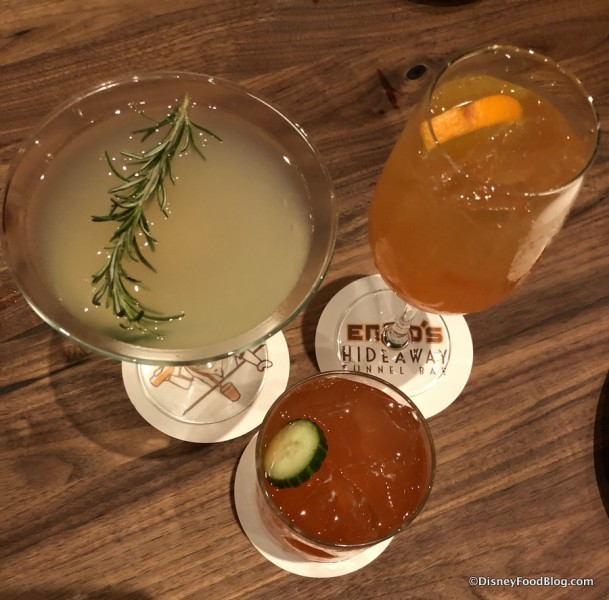 Strawberry Fields, Limoncello Gimlet, and Luciano Spritz