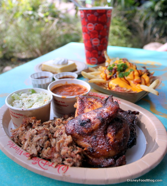 Flame Tree Barbecue Spread