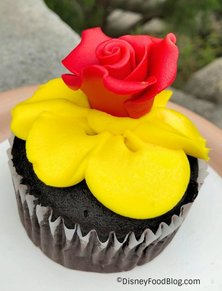 Enchanted Rose Cupcake