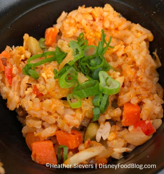 Kimchi and Vegetable Fried Rice