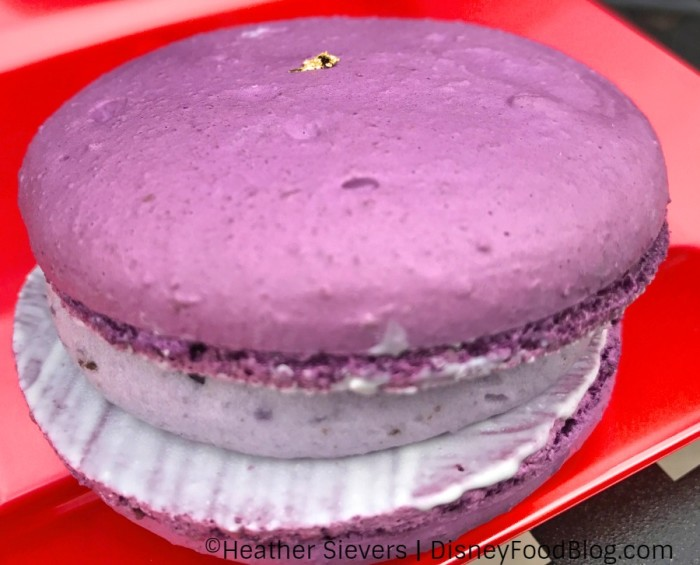 Purple Sweet Potato Macaron