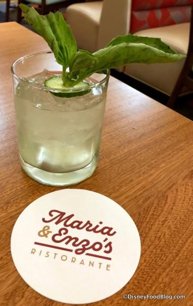 Green Gin Smash