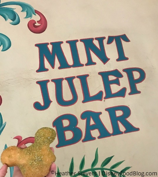 Always a tasty time at the Mint Julep Bar!