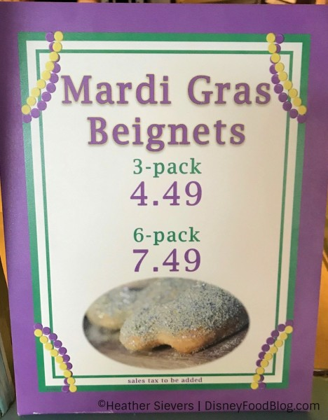 Mardi Gras Beignets at Mint Julep Bar