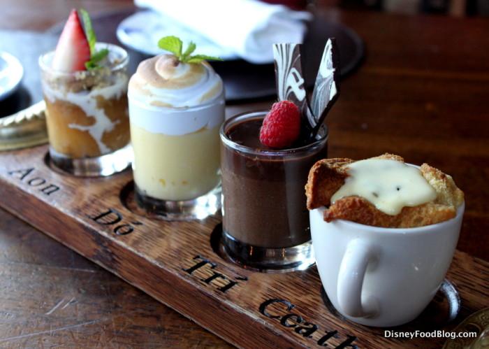 Chef's Dessert Sampler at Raglan Road