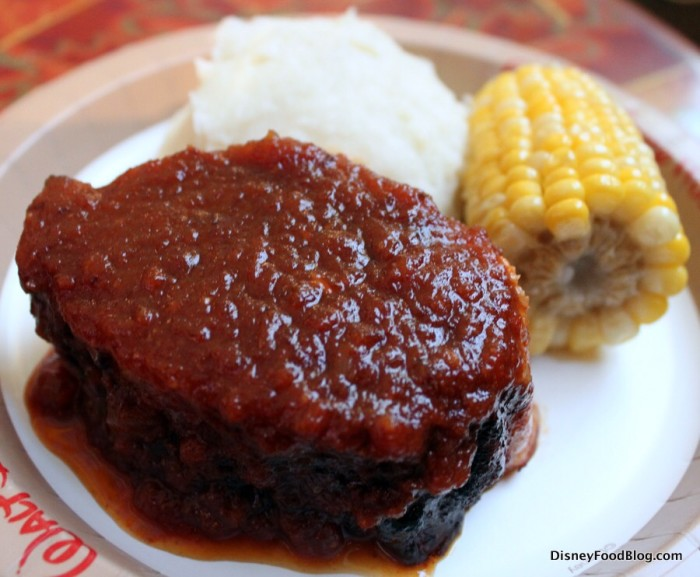 Slow-Roasted Pork with BBQ Sauce