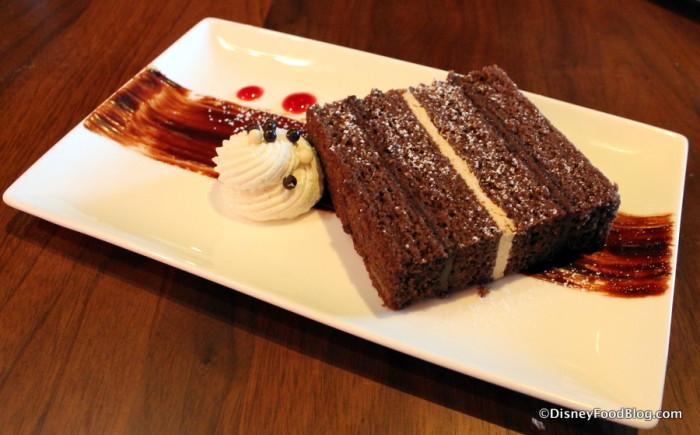 "Bittersweet Chocolate ""Mile High"" Cake"