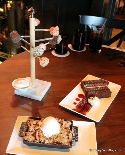 Three Edison Desserts