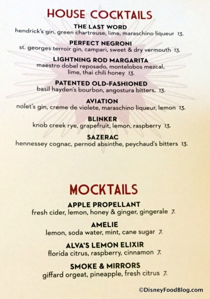 Classic Cocktails and Mocktails
