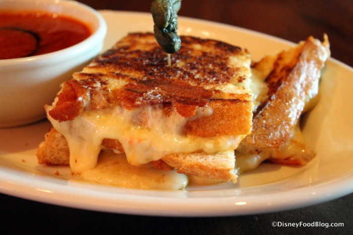 Gooey Grilled Cheese at The Edison