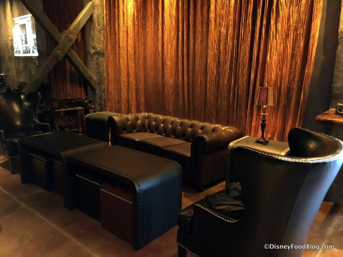 The Edison seating