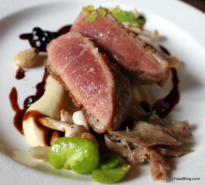 Pan-Seared Duck Breast at Tiffins