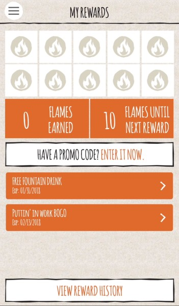 blaze pizza BOGO