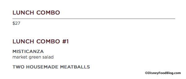 Enzo's Lunch Combo #1