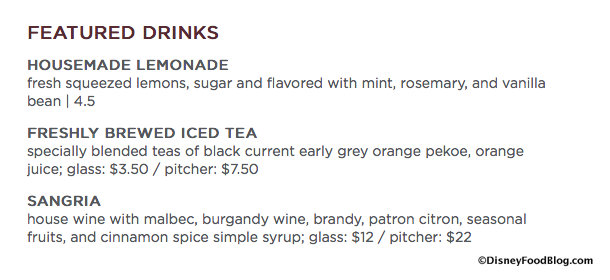 Enzo's Hideaway Featured Drinks