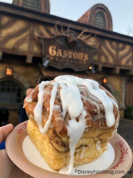 Gaston's Cinnamon Roll