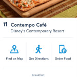 UPDATED: News: Disney World's Mobile Order System Expands to Contempo Cafe at Contemporary Resort