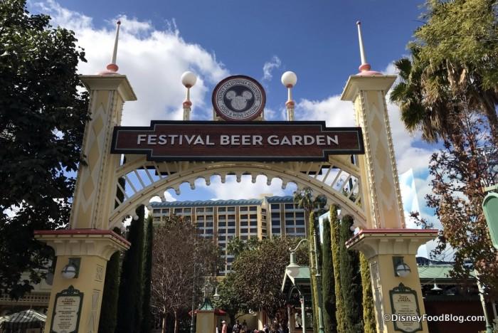 Festival Beer Garden