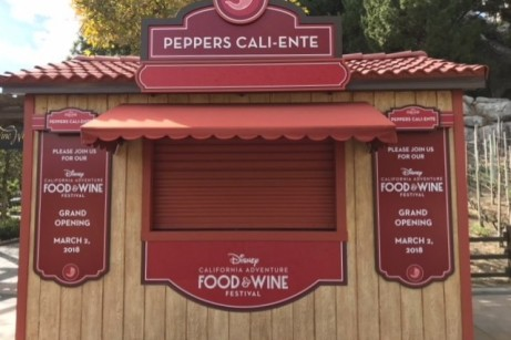 Peppers Cali-Ente Booth