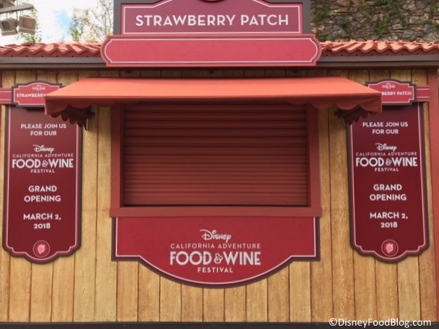NEW Strawberry Patch Booth!
