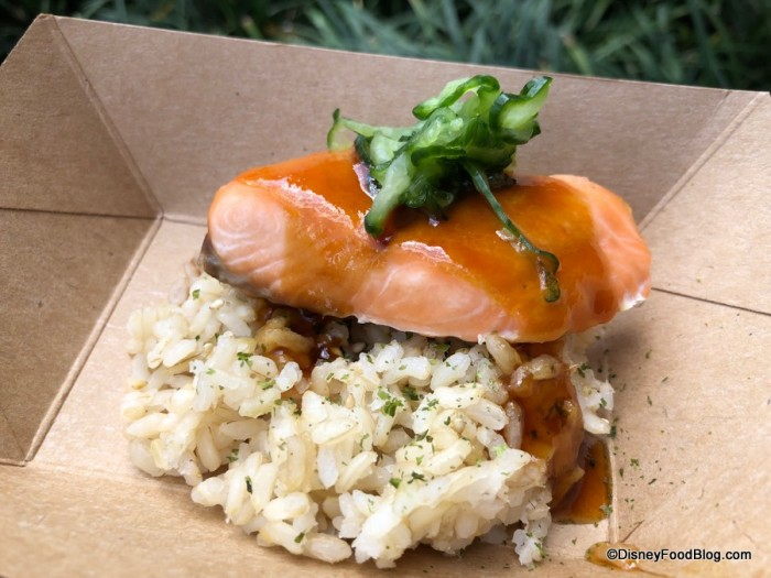 Teriyaki Salmon with Furikake Seasoned Brown Rice