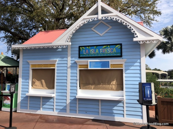 2018 La Isla Fresca Booth