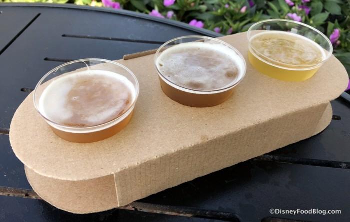 Pineapple Beer Flight