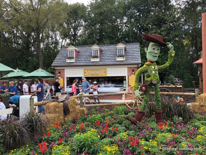 Disney Flower Festival Food Booths
