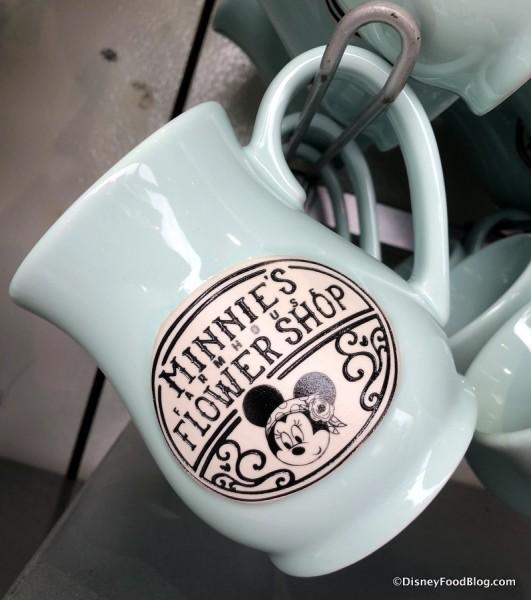 Minnie's Flower Shop coffee mug