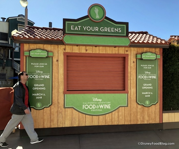 Eat Your Greens Booth