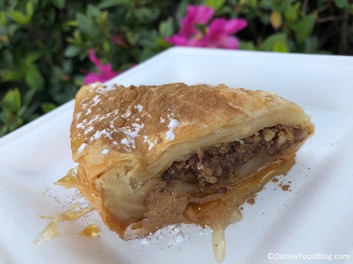 Walnut Honey Baklava